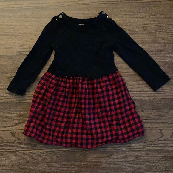 Baby GAP Buffalo Plaid Dress